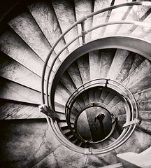 MS-3-0271 (decocentrum) Tags: staircase design architecture spiral shape round interior structure art circle abstract perspective metal old stairs landmark tall step stairway swirl tower circular building infinity spiralstaircase spiralpattern swirlpattern swirlbackground high granite house hypnosis inside pattern twirl ornament museum tourism travel monumental stone bronze culture gallery footstep screw spin floor down stair geometric rotate walking women center golden ratio