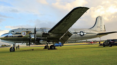 56498 DOUGLAS C-54 JETFEST (toowoomba surfer) Tags: aircraft aviation aeroplane