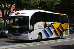 8138 GHH, Avenida Mediterraneo, Benidorm, May 22nd 2017 (Southsea_Matt) Tags: 8138ghh 72 sunsundegui volvo sideral grupomartinez avenidamediterraneo benidorm spain may 2017 spring canon 80d bus coach autocar vehicle