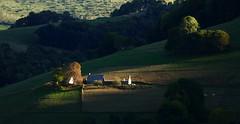 Campan (Hautes-Pyrénées, Haut-Adour, Fr) – Fin de journée (caminanteK) Tags: campanhautadour hautebigorre hautespyrénées valléedecampan desdemiventana pordosol