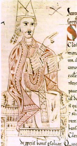 06 Папа Григорий VII Рукопись XIв