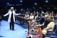 Plenário do Senado (Senado Federal) Tags: plenário sessãoespecial comemoração homenagem diadomédico medicina apresentação contadoradehistória nyedjagennari brasília df brasil