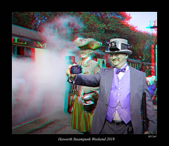 016 Haworth Steampunk 19 colour (3dbeadyeyes2) Tags: haworth steampunk weekend 2019 howarthsteampunkweekend2019 3d anaglyph