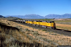New Comfort Cab EMDs (jamesbelmont) Tags: skyline coal intermountainpower locomotive railway railroad train york comfortcab sd60m emd utah rockyridge summitridge santaquin cskip unionpacific