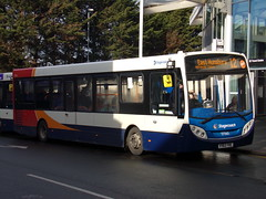 Stagecoach ADL Enviro 200 37060 YY63 YRE (Alex S. Transport Photography) Tags: bus outdoor road vehicle stagecoach stagecoachmidlandred stagecoachmidlands route12 adlenviro200 enviro200 e200 adldartslf4 37060 yy63yre