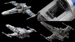 Z95-Headhunter - Various Angles (Moppo!) Tags: headhunter xwing starwars rebel bounty hunter