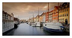 Port de Nyhavn (Jean-Louis DUMAS) Tags: traveller travel voyage trip town ville colors copenhagen danemark boat bateau port ciel sky nuage voyageur water cloud copenhague