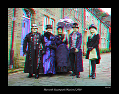 103 Haworth Steampunk 19 colour (3dbeadyeyes2) Tags: haworth steampunk weekend 2019 howarthsteampunkweekend2019 3d anaglyph