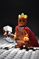 Thor Groot (Superhero Minifig) Tags: thorgroot minifigs marvel mcu guardianofthegalaxy cosmic