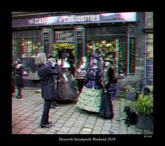 083b Haworth Steampunk 19 colour (3dbeadyeyes2) Tags: haworth steampunk weekend 2019 howarthsteampunkweekend2019 3d anaglyph