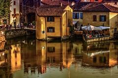 Mulini (giannipiras555) Tags: mulini borgo luce tramonto sera italia fiume riflessi panorama paesaggio