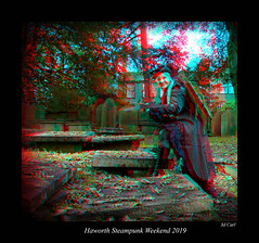 039 Haworth Steampunk 19 colour (3dbeadyeyes2) Tags: haworth steampunk weekend 2019 howarthsteampunkweekend2019 3d anaglyph