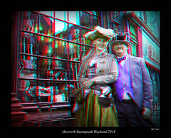 028 Haworth Steampunk 19 colour (3dbeadyeyes2) Tags: haworth steampunk weekend 2019 howarthsteampunkweekend2019 3d anaglyph