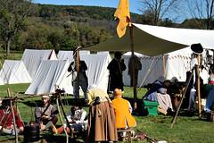 COLONIAL CAMP (MIKECNY) Tags: camp tent reenactment reenactor americanrevolution schoharie schoharievalley