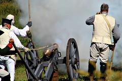 CANNON FIRE (MIKECNY) Tags: artillery cannon smoke fire americanrevolution schoharievalley schoharie reenactor reenactment