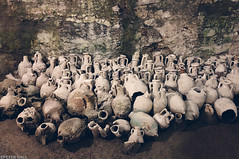 Amphora (peterphotographic) Tags: photo10092019100716ed1cb2nc1aedwm amphora apple appleiphone iphone iphonex x ©peterhall pula pulaarena istria croatia europe easteurope balkans amphitheatre underground catacomb oliveoil romanremains roman cask bottle