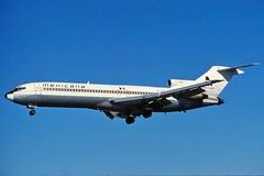 XA-CUN MEXICANA 727-264 at KMIA (GeorgeM757) Tags: xacun hp1610dae n625dh mexicana 727264 dhl aircraft aviation airplane airport boeing kmia miamiinternational georgem757 predigital