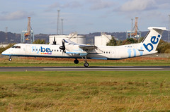 G-JECK_13 (GH@BHD) Tags: gjeck bombardier dhc8402qdasheight flybe belfastcityairport dhc dhc8 dhc8402q dasheight be bee bhd egac aircraft aviation airliner turboprop propliner
