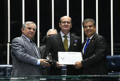 Plenário do Senado (Senado Federal) Tags: certificado comemoração diadomédico drpaulorobertokrause homenagem medicina plenário senadorizalcipsdbdf senadornelsinhotradpsdms sessãoespecial brasília df brasil