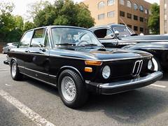 1976 BMW 2002 (splattergraphics) Tags: 1976 bmw 2002 carshow fairfaxlabordaycarshow fairfaxva