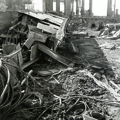 Demolition of a steel plant (st-bruehne) Tags: stahlwerk henrichshütte hattingen