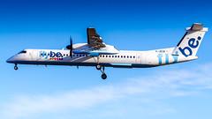 Bombardier DHC-8-402Q G-JECN Flybe (William Musculus) Tags: london heathrow lhr egll airport spotting aviation plane airplane william musculus gjecn flybe bombardier dhc8402q dash 8 bee be de havilland canada dash8q400 dhc8400 dhc8q400 q400