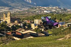 Bodega de vino (Pepa Morente ( 2.400.000 de VISITAS )) Tags: arquitecto frankgehry bodegas rioja larioja vino arquitectura moderna moderno paisaje