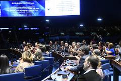 Plenário do Senado (Senado Federal) Tags: plenário sessãoespecial comemoração homenagem diadomédico medicina bancada aplauso brasília df brasil