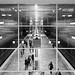 Schaufenster U-Bahn-station.