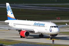 SunExpress | A320-200 | LY-NVS | HAM | 28.09.2019 (Norbert.Schmidt) Tags: lynvs sunexpress a320200 a320 airbus hamburgairport