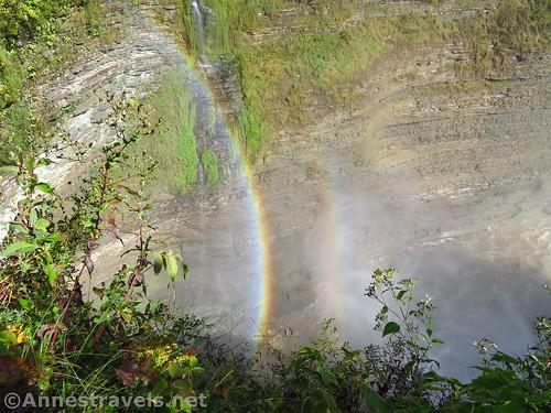 Rainbow below Middle Falls
