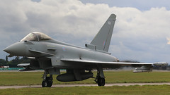 "TYPHOON ""438"" (toowoomba surfer) Tags: jet aeroplane aircraft aviation eurofighter raf"