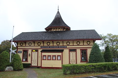 Chatham Railroad Museum. (Stephen St-Denis) Tags: chatham massachusetts chathamrailroadmuseum barnstablecounty capecod depot station nationalhistoricregister