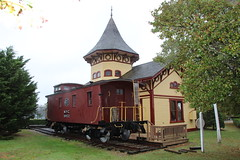 Chatham Railroad Museum. (Stephen St-Denis) Tags: chatham massachusetts chathamrailroadmuseum barnstablecounty capecod nationalhistoricregister depot station