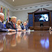 President Trump Calls Astronauts During First All-Woman Spacewalk (NHQ201910180016)