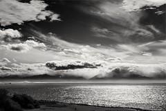 Big sky (L@nce (ランス)) Tags: sky skyscape clouds cloudy storm sea salish ocean pacific juandefuca nikkor nikon seascape victoria hollandpoint canada jamesbay dallasroad
