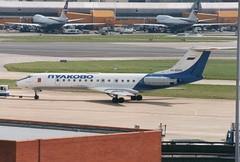RA-65042 (IndiaEcho) Tags: aircraft aviation aeroplane airport airfield london heathrow lhr tupolev pulkovo egll tu134 ra65042