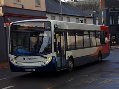 Stagecoach ADL Enviro 300 27683 KX60 AZJ (Alex S. Transport Photography) Tags: bus outdoor road vehicle stagecoach stagecoachmidlandred stagecoachmidlands adlenviro300 enviro300 e300 route4 27683 kx60azj