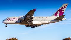 Airbus A380-861 A7-API Qatar Airways (William Musculus) Tags: london heathrow lhr egll airport spotting aviation plane airplane william musculus a7api qatar airways airbus a380861 qr qtr a380800