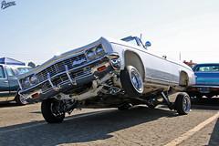 Three Wheel Motion (Pomona Swap Meet) Tags: pomonafavorites pomonaswapmeet classic classiccars carshow carshowphotography impala impalaconvertible chevyimpala lowrider lowriders hittinswitches trafficcarclub trafficcc pomona