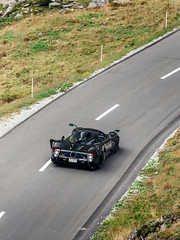 Zonda LM (Mattia Manzini Photography) Tags: pagani zonda lm supercar supercars cars car carspotting carbon nikon d750 v12 amg automotive automobili auto automobile switzerland andermatt black spoiler oberalppass supercarownerscircle soc