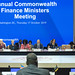 Commonwealth Finance Ministers Meeting