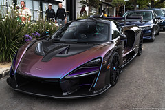 McLaren Senna (Hunter J. G. Frim Photography) Tags: supercar hypercar car week 2019 monterey carmel carweek mclaren senna carbon british wing v8 turbo mclarensenna twinturbo orange blue purple