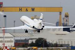 N19NE_01 (GH@BHD) Tags: n19ne dassault falcon dassaultfalcon7x planetnineprivateairllc belfastcityairport falcon7x trijet aircraft aviation bizjet corporate executive bhd egac