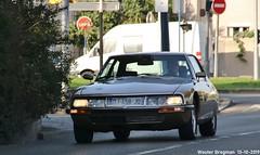 Citroën SM 1973 (XBXG) Tags: dj458jq citroën sm 1973 citroënsm maserati v6 coupé coupe le bourget lebourget îledefrance 93 france frankrijk vintage old classic french car auto automobile voiture ancienne française vehicle outdoor