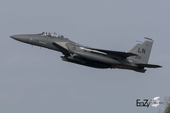 91-0302 United States Air Force McDonnell Douglas F-15E Strike Eagle (EaZyBnA - Thanks for 3.500.000 views) Tags: 910302 unitedstatesairforce mcdonnelldouglasf15e strikeeagle eazy eagle eos70d ef100400mmf4556lisiiusm europe europa eifel 100400isiiusm 100400mm warplanespotting warbirds warplane warplanes wareagles grosbritannien greatbritain usaf usairforce usafe usa usairforces usairforcesineurope deutschland departure dep steadfastnoon exercise england autofocus airforce aviation air airbase canoneos70d canon ngc nato jet jetnoise kampfflugzeug luftwaffe luftstreitkräfte luftfahrt planespotter planespotting plane rheinlandpfalz rlp bue etsb alflen taktlwg33 taktischesluftwaffengeschwader bundeswehr büchel büchelairbase airbasebüchel fliegerhorstbüchel militärflugplatzbüchel flugzeug fliegerhorst mcdonnelldouglas f15e f15estrikeeagle dualrolefighter 48thfw 48thfighterwing libertywing