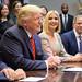 President Trump Calls Astronauts During First All-Woman Spacewalk (NHQ201910180017)