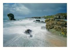 Angelsey Seascape (busmender1964) Tags: sea seashore seascape seaside longexposurephotography longexposureseascape angelsey