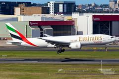 A6-EFJ EK B77F 16R YSSY-8067 (A u s s i e P o m m) Tags: sydney newsouthwales australia emirates ek syd yssy boeing b77f emiratesskycargo skycargo