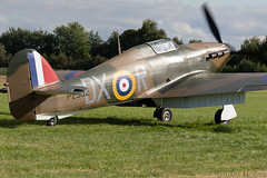 Hurricane I P2902 - G-ROBT - Anglia Aircraft Restorations Ltd (stu norris) Tags: hurricanei p2902 grobt angliaaircraftrestorationsltd hurricane hawkerhurricane warbird fighter airshow aviation historic classic vintage aircraft outside thevictoryshow2019 thevictoryshow cosby